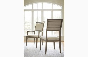 Playlist Brown Eyed Girl Dining Arm Chair Set of 2