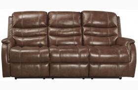 Metcalf Nutmeg Power Reclining Sofa