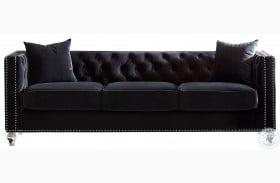 Delilah Black Sofa