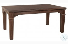 Mill Valley Oak Extendable Dining Table
