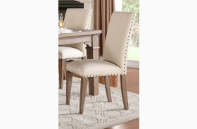 Mill Valley Weathered Wash Side Chair Set of 2