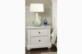 Pathways White Nightstand