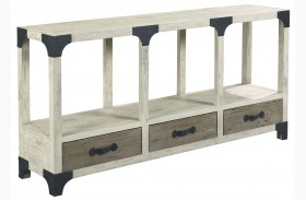 Reclamation Place Sundried Natural Console Table