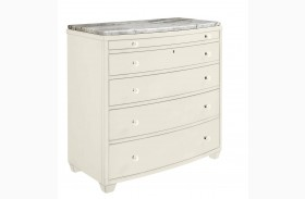 Coastal Living Oasis Saltbox White Ocean Park Bachelor's Chest