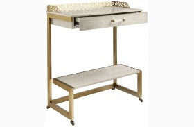 Coastal Living Oasis Oyster Catalina Bar Cart