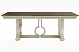 Coastal Living Oasis Oyster Moonrise Extendable Pedestal Dining Table