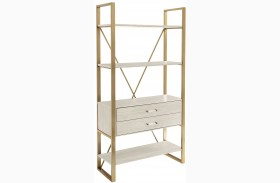 Coastal Living Oasis Oyster Harwell Bookcase