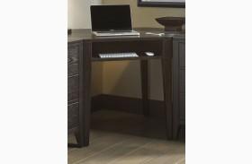 Autumn Oaks II Black Corner Desk
