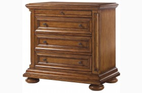 Island Estate Plantation Brown Martinique Nightstand