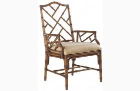 Island Estate Plantation Brown Ceylon Arm Chair