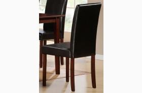 Weitzmenn Bi-Cast Vinyl Side Chair Set of 2
