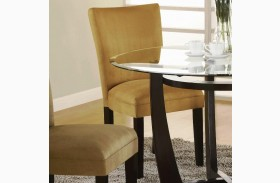 Castana Gold Side Chair Set of 2