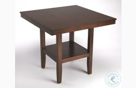 Plato Dark Brown Pub Table