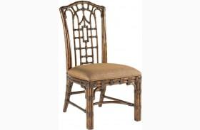 Royal Kahala Pacific Rim Woven Fabric Side Chair