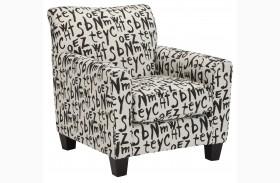 Brindon Raven Accent Chair