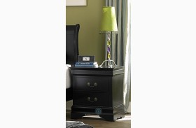 Marianne Black Nightstand