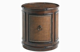 Landara Sandpiper Round Lamp Table