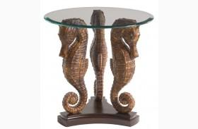 Landara Sea Horse Lamp Table