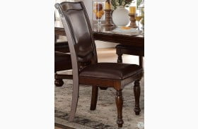 Lordsburg Brown Cherry Side Chair Set of 2