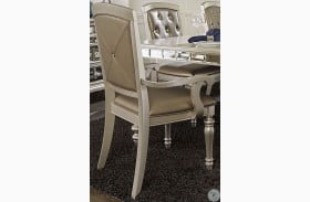 Orsina Silver Arm Chair Set of 2