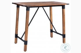 Masterson Natural Wood Pub Table