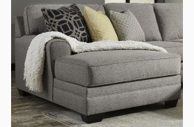 Cresson Pewter Laf Large Chaise Sectional From Ashley