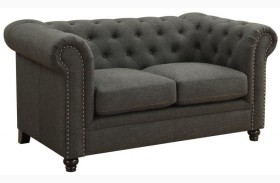 Roy Grey Loveseat