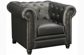 Roy Gunmetal Chair