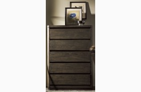 Curated Graphite Stain Roxbury Drawer Chest