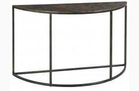 Sanford Acid Washed Copper Top Sofa Table