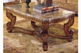 Tarantula Cocktable Table with Marble Top