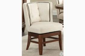 Oratorio Cherry Swivel Chair Set of 2