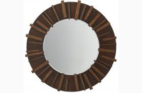 Island Fusion Kobe Round Mirror