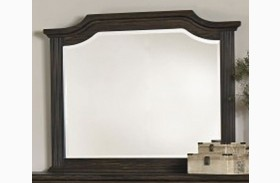 Affinity Dark Roast Arch Mirror