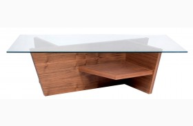 Oliva Walnut Coffee Table