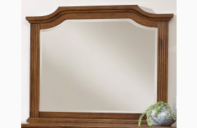 Affinity Antique Cherry Arch Mirror