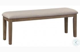 Armhurst Wire Brush Brown Bench