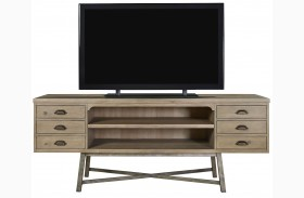 Curated Authenticity Khaki Entertainment Console