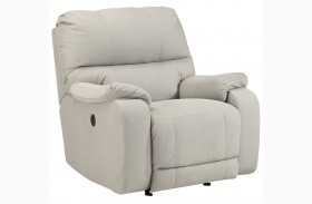 Bohannon Putty Power Rocker Recliner