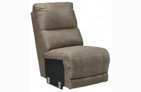 Bohannon Taupe Armless Chair