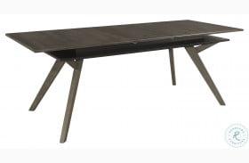 Mezzanine Dark Gray Extendable Dining Table