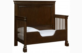 Teaberry Lane Midnight Cherry Built To Grow Toddler Bed Kit