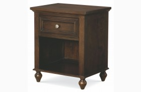 Academy Molasses 1 Drawer Nightstand