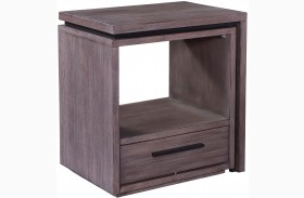 Moreland Avenue Storm Shelter Nightstand