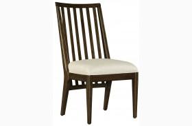 Santa Clara Burnished Walnut Wood Side Chair