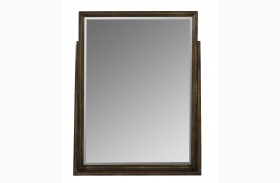 Santa Clara Burnished Walnut Mirror