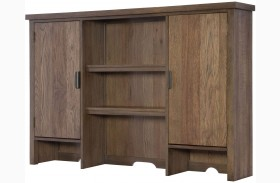 Fulton County Tawny Brown Dresser Hutch