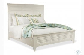 Myra Paperwhite Louvered Bed