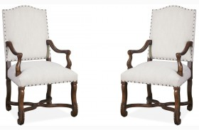Dogwood Low Tide Paula And Michaels Host And Hostess Chair Set of 2