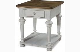 Dogwood Blossom End Table
